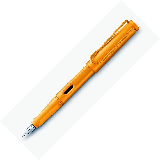 Penna stilografica Safari Candy Mango pennino F Lamy 021